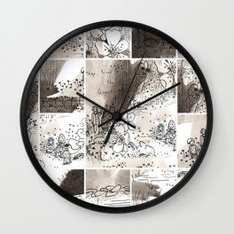 Death of a giant Wall Clock