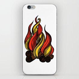 Campfire iPhone Skin