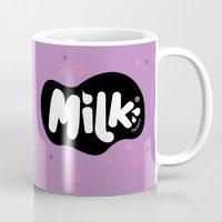 musa Mugs featuring Lusa Musa© of MILK FACTORY ® by Mimi Guarnero