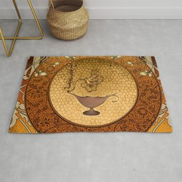 The lamp of wishes Rug