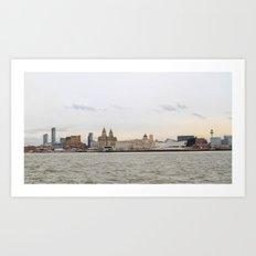 Liverpool Art Print
