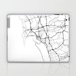 Minimal City Maps - Map Of San Diego, California, United States Laptop & iPad Skin