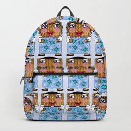 Matzo Boy and Matzo Girl together for Hanukkah! Backpack