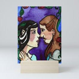 Elven Love Mini Art Print