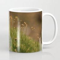 moss Mugs featuring Moss by A Wandering Soul