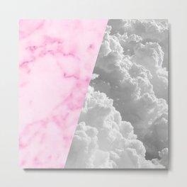 cloudy memory Metal Print