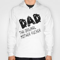 dad Hoodies featuring Dad by Jessa