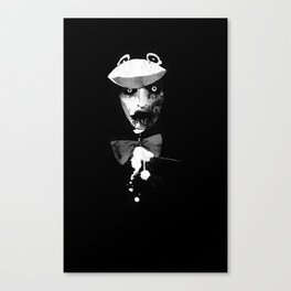 Zombie in a Penguin Suit Canvas Print