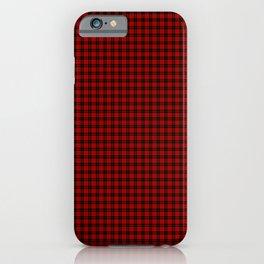 MacQueen Tartan iPhone Case