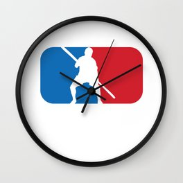 Jugger in Blue and Red NBA Gift  Wall Clock