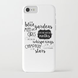 The Champagne & The Stars iPhone Case
