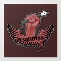 Viva la resolution! Canvas Print