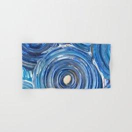 Blue Swirls Hand & Bath Towel