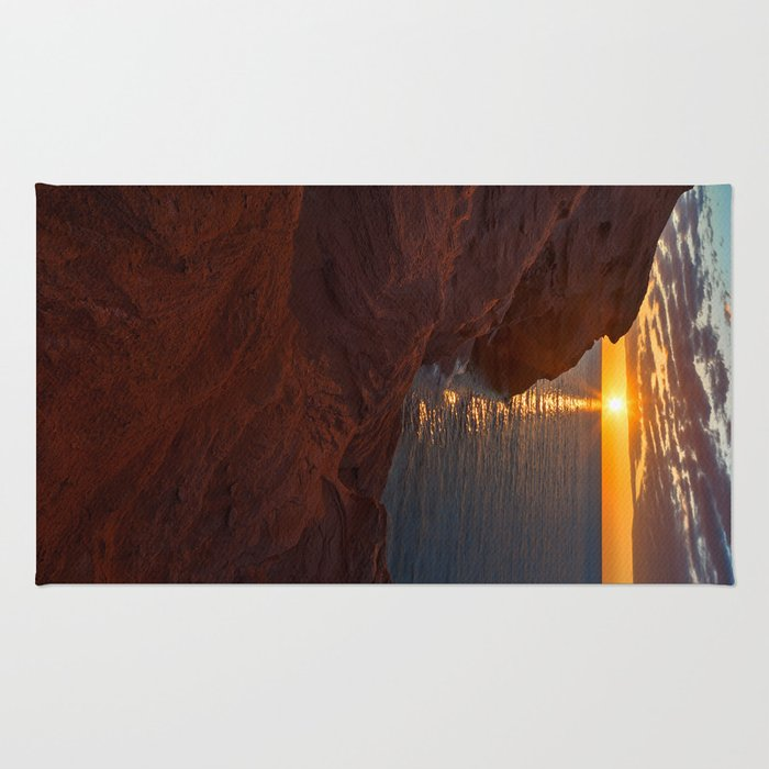Seacow Head Sunset Rug
