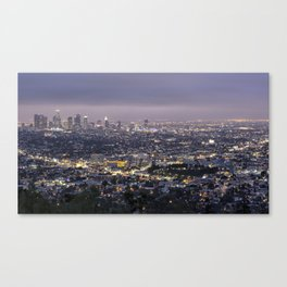 Los Angeles Nightscape No. 1 Canvas Print