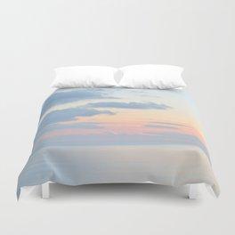 Rio Del Mar Sunset Duvet Cover