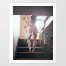 voyeurism & obstruction Art Print