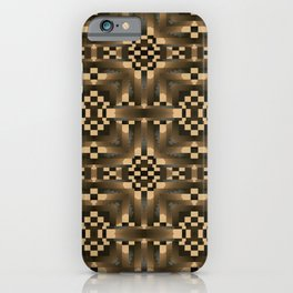 Indian Blanket Natural iPhone Case