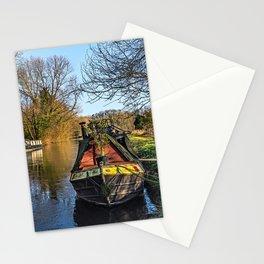 Narrowboats At Woolhampton Stationery Cards
