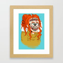 They're Coming to Get You, Barbara Framed Art Print