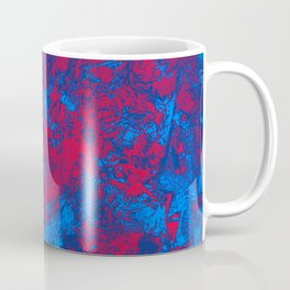 Red + Blue Coffee Mug