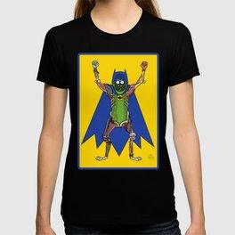 Pickle Rick as Bat Man Fan Art Mashup T-shirt