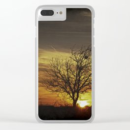 Till Tomorrow Clear iPhone Case