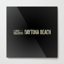Black Flag: Daytona Beach Metal Print