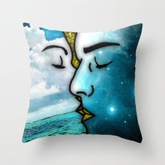 Lover's Kiss Throw Pillow