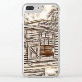 Beautiful old stables Clear iPhone Case