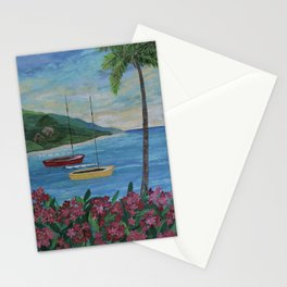Caribbean Sunset Stationery Cards