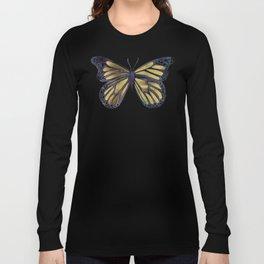 Gold Butterfly Long Sleeve T-shirt
