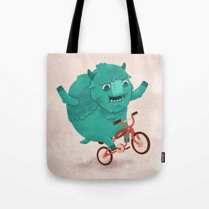 Bicycle Buffalo Tote Bag