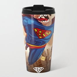 HeuresSup'erman Metal Travel Mug