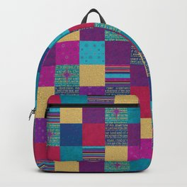 King of Kings Patchwork Amanya Design Backpack