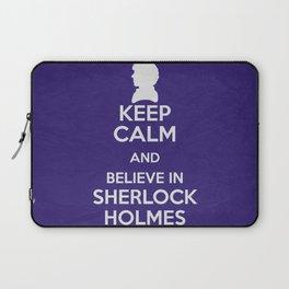 Keep Calm - Sherlock Laptop Sleeve