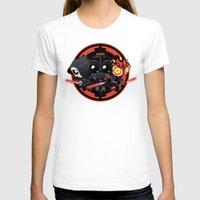 dark side T-shirts featuring Dark Side by Dooomcat