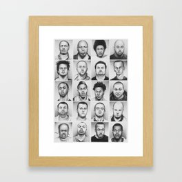 i am a man Framed Art Print