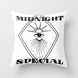 Midnight Special Throw Pillow