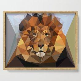Lion Techy Art Serving Tray