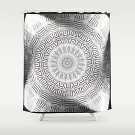 METAL Element Kaleido Pattern Shower Curtain