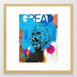 Great Framed Art Print