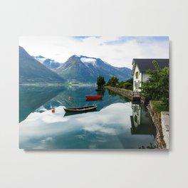 Beautiful Hjelle, Norway Metal Print