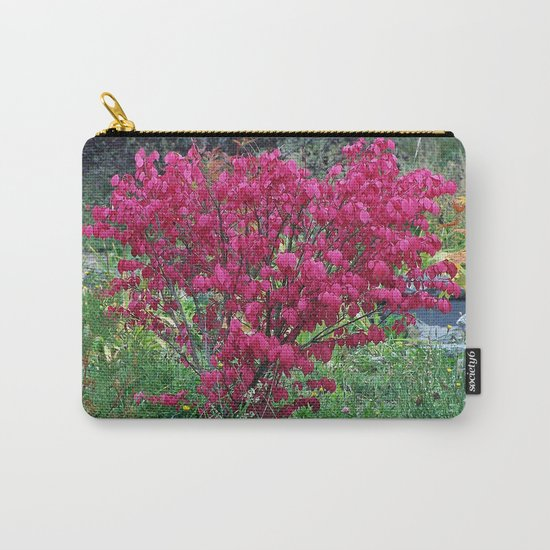 Red Bush Carry-All Pouch