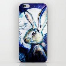 Moonlight Rabbit iPhone & iPod Skin