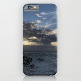 Sunset, Ocean, Wave, Maui iPhone Case