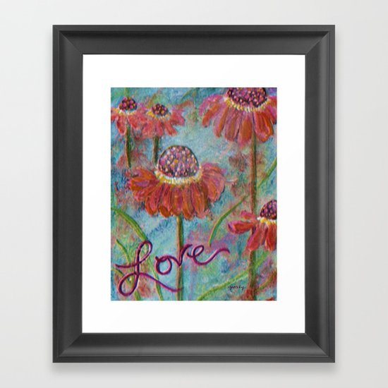 Helenium Framed Art Print