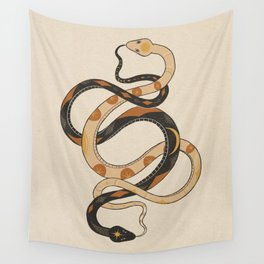 Rattlesnake Ouroboros Infinity Chain Wall Tapestry