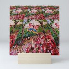 """"""" Butterfly Garden """" Mini Art Print"""