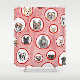 The Dog Show Shower Curtain